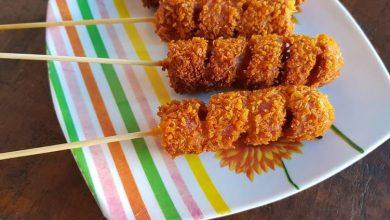 Cara membuat sosis tempura