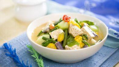 cara membuat sayur lodeh santan